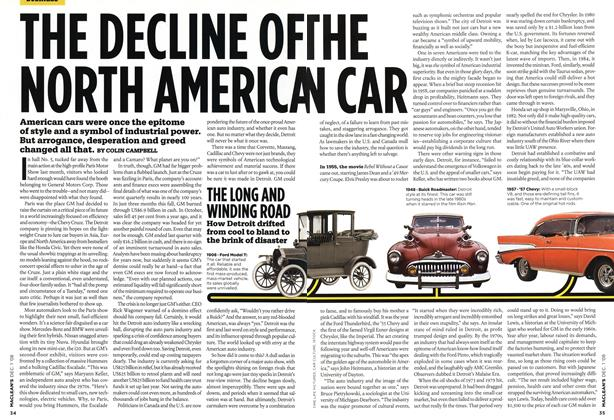 THE DECLINE OF THE NORTH AMERICAN CAR
