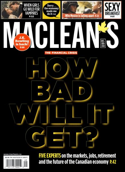 Issue: - DEC. 8th 2008 | Maclean's