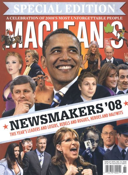 Issue: - DEC. 15th 2008 | Maclean's