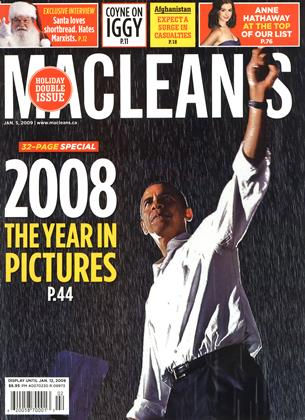 Cover for the January 5 2009 issue