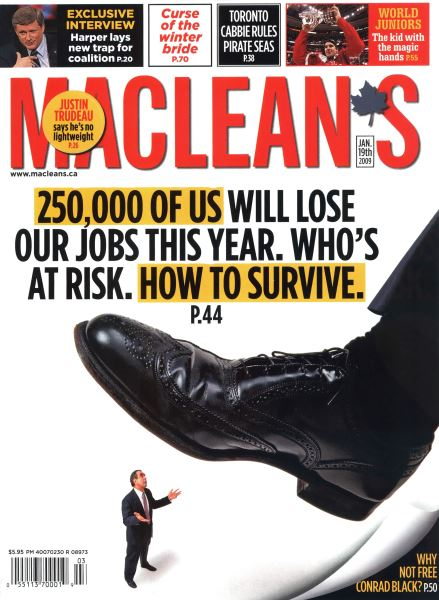 Issue: - JAN. 19th 2009 | Maclean's