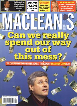 JAN. 26th 2009 | Maclean's