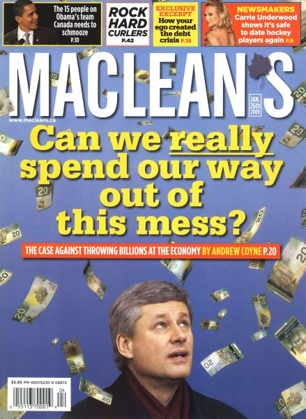 Issue: - JAN. 26th 2009 | Maclean's