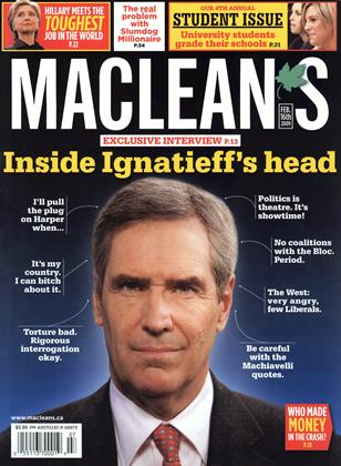 Cover for the February 16 2009 issue