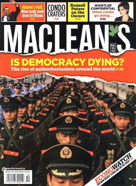 Issue: - MAR. 9th 2009 | Maclean's