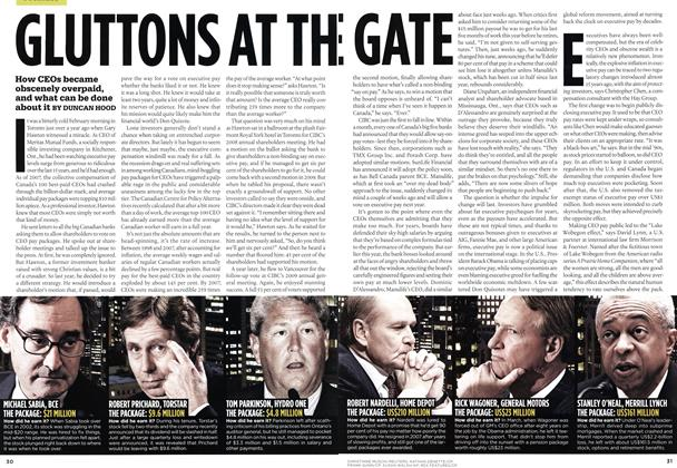 GLUTTONS AT THE GATE