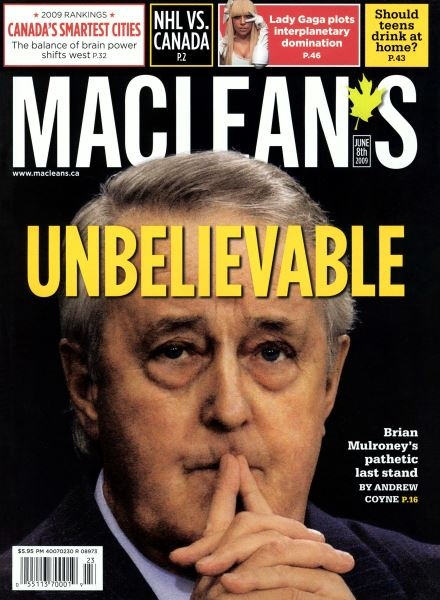 Issue: - JUNE 8th 2009 | Maclean's