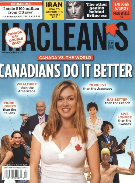 Issue: - JULY 6th 2009 | Maclean's