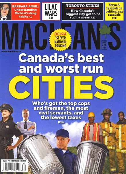 Issue: - JULY 27th 2009 | Maclean's