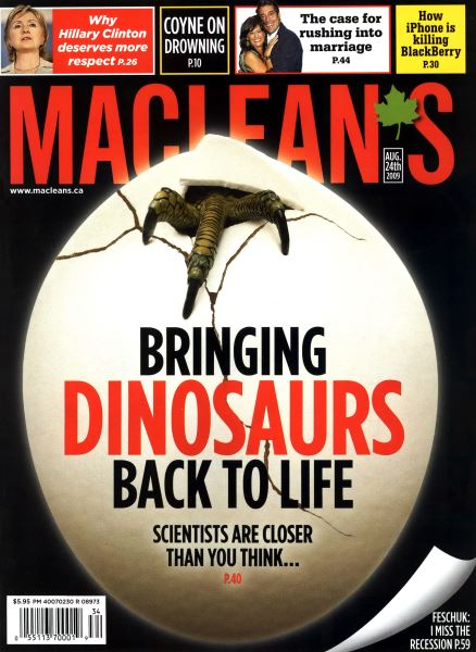 Issue: - AUG. 24th 2009 | Maclean's