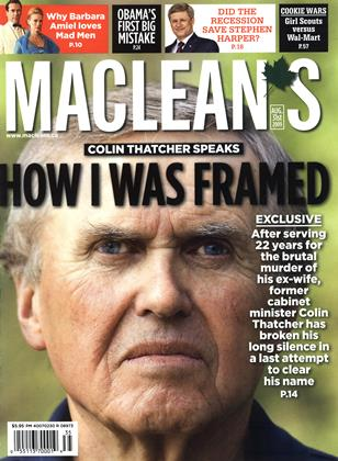 Cover for the August 31 2009 issue