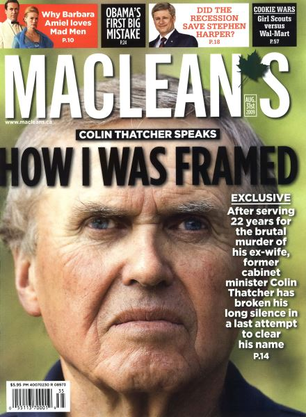 Issue: - AUG. 31st 2009 | Maclean's