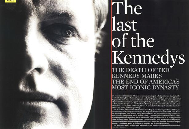 The last of the Kennedys