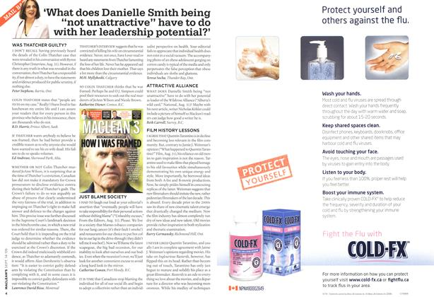 "'What does Danielle Smith being ""not unattractive"" have to do with her leadership potential?'"