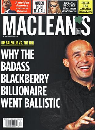 Cover for the October 5 2009 issue