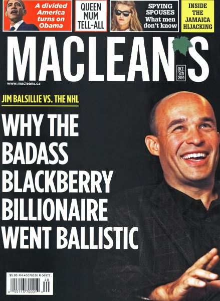 Issue: - OCT. 5th 2009 | Maclean's