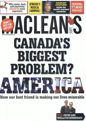 Cover for the October 12 2009 issue