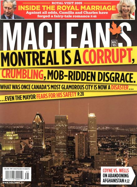 Issue: - NOV. 9th 2009 | Maclean's