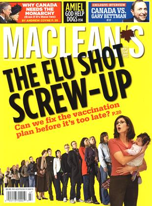 Cover for the November 23 2009 issue