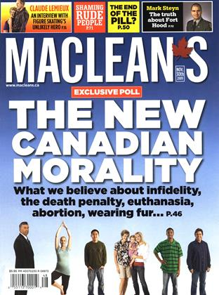 Cover for the November 30 2009 issue