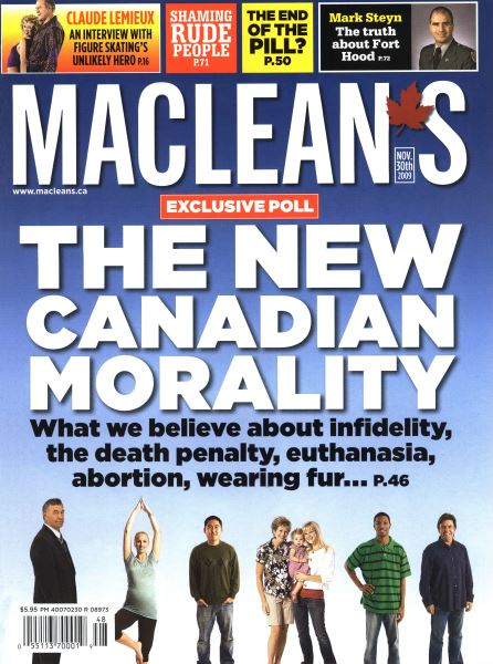 Issue: - NOV. 30th 2009 | Maclean's