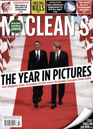 Cover for the January 4 2010 issue