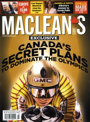 Cover for the January 18 2010 issue