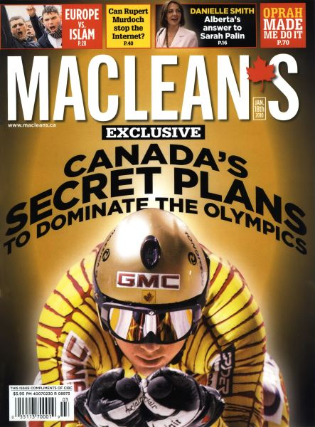 Issue: - JAN. 18th 2010 | Maclean's
