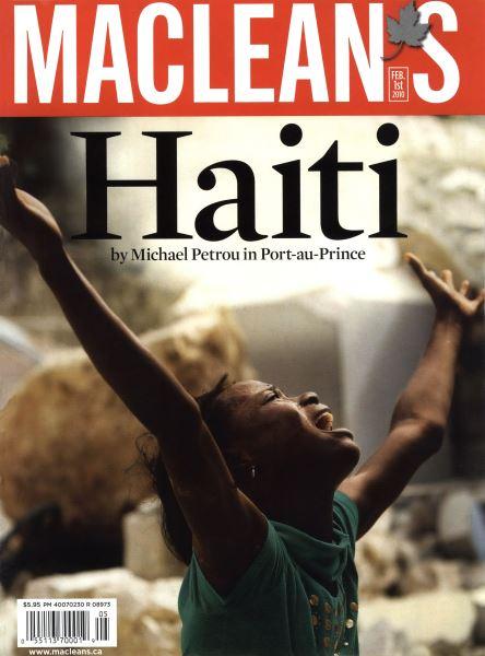 Issue: - FEB. 1st 2010   Maclean's