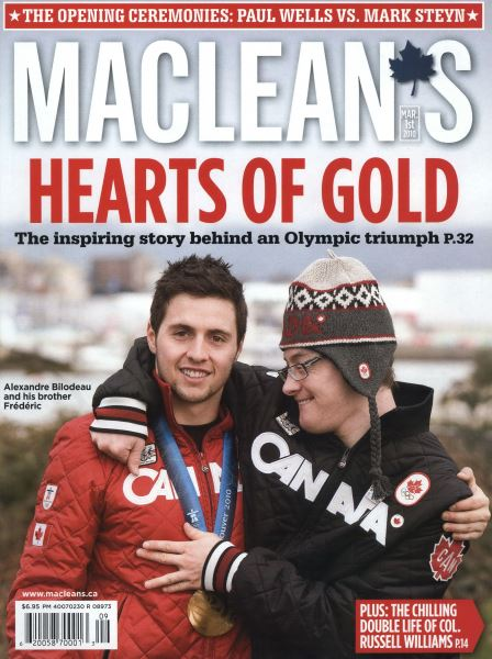 Issue: - MAR. 1st 2010 | Maclean's