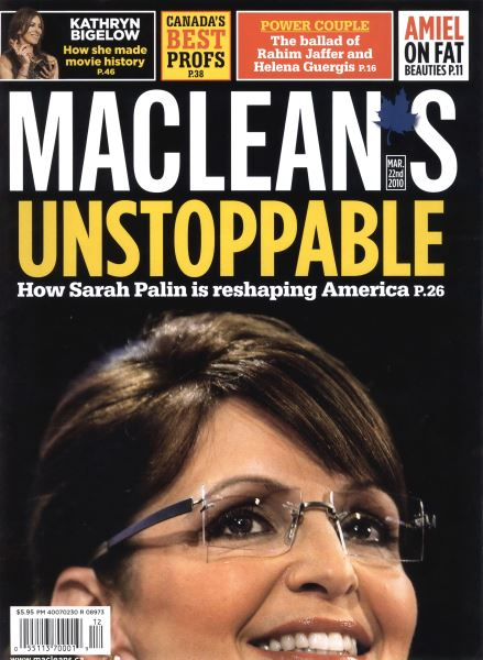 Issue: - MAR. 22nd 2010 | Maclean's