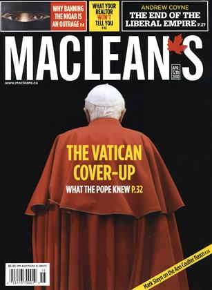 Cover for the April 12 2010 issue