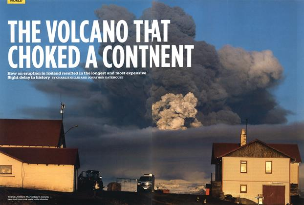 THE VOLCANO THAT CHOKED A CONTNENT