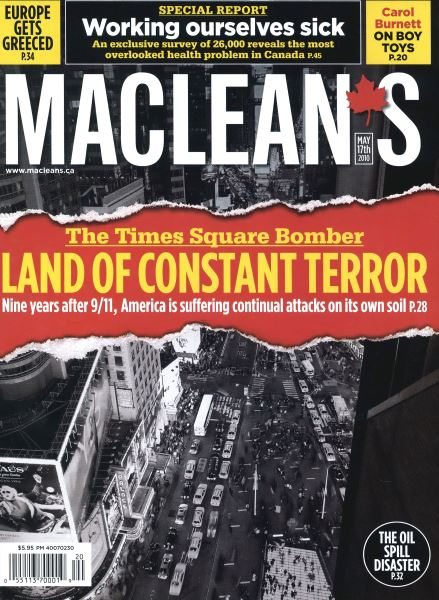 Issue: - May 17th 2010 | Maclean's