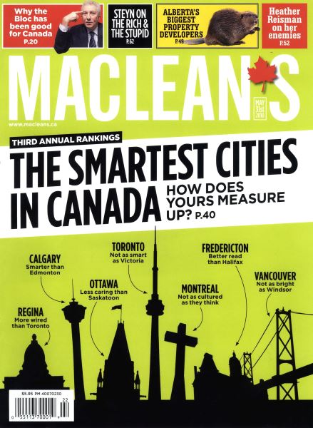Issue: - MAY 31st 2010 | Maclean's