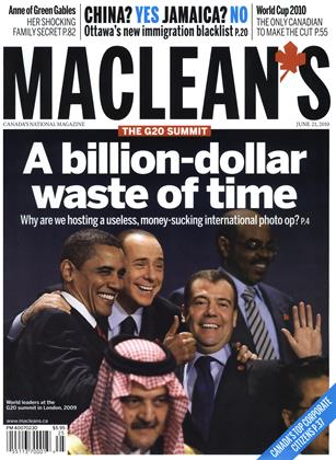 Cover for the June 21 2010 issue