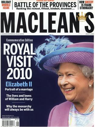 Cover for the July 5 2010 issue