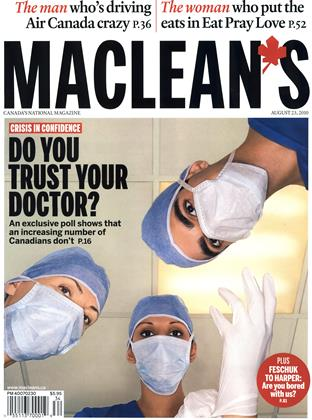 Cover for the August 23 2010 issue