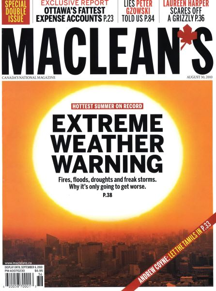 Issue: - August 30th 2010 | Maclean's