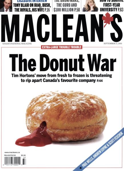 Issue: - September 13th 2010 | Maclean's