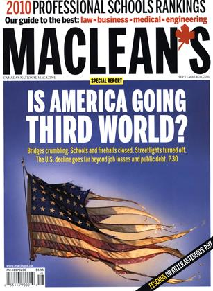 Cover for the September 20 2010 issue