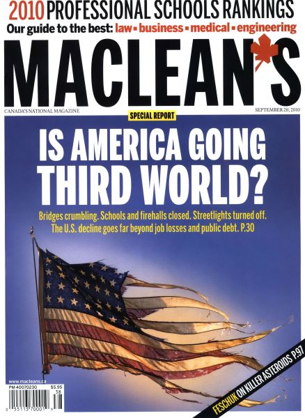 Issue: - September 20th 2010 | Maclean's