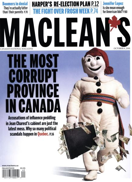 Issue: - October 4th 2010 | Maclean's