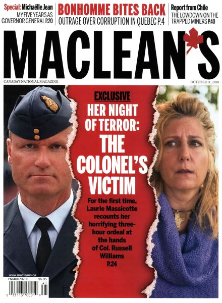 Issue: - October 11th 2010 | Maclean's