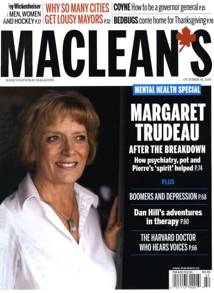 Issue: - October 18th 2010 | Maclean's