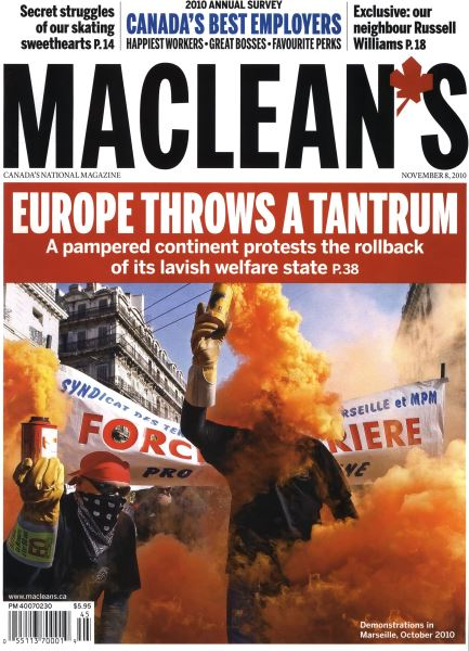 Issue: - November 8th 2010 | Maclean's
