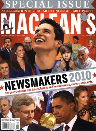 Cover for the December 13 2010 issue