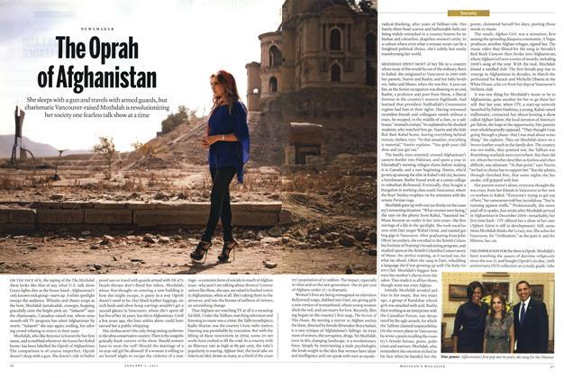 The Oprah of Afghanistan