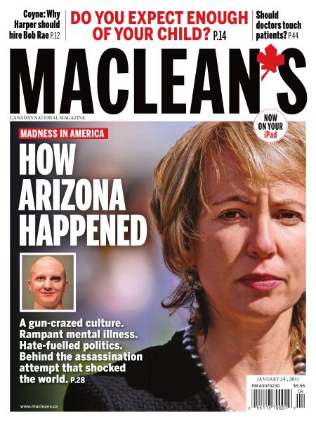 Issue: - JANUARY 24, 2011 | Maclean's