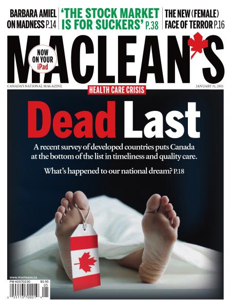 Issue: - JANUARY 31st 2011 | Maclean's
